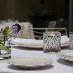 Detalle del Mercer Restaurant Jean Luc Figueras