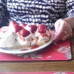 the pavlova a must try. that was for one person.