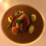 Fish Soup with rock lobster, vegetables and potatoes CHF 82+
