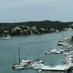 port , vue du haut de la ville
