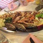 Fischplatte für 3 Personen