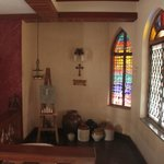 Stain Glass Cottage Foto