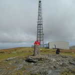 Trig point, Snaefell Summit