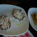 "Mozzarella fritta e melanzane ""simil parmigiana"""