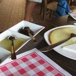 L'antipasto di formaggi tipici
