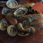 Entrée: assiette de la mer