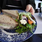 Aunt Marth's Tea Room Sandwiches