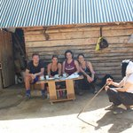 A summer visit to a 'stan' - a temporary summer home in the mountains!