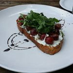 Different but yummy take on Bruschetta