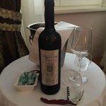 offert à votre arrivée : excellente vin croate