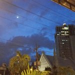 View from Restaurant of Makati