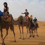 Bivouac Merzouga tours Campsite