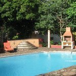 zwembad bij rancho