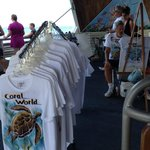 Coral world - hand painted shirts