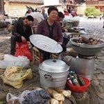 塔下村のおばさん