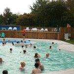 Outdoor pool fun at Waterworld