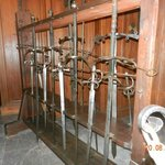 Swords in the armory