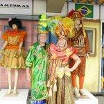 Samba school costumers were fun