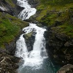 Waterfall stop on the way to Flam