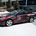 Pace car on display out front