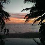Sunset at Veligandu