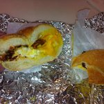 their bacon egg and cheese seedless roll cant go wrong!
