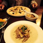 Good portions! Amazing food!