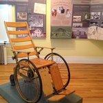 """""""Ancient"""" wheelchair"""