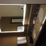 Large separate vanity area of bathroom