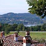 Vista lago di Varese dalla loggia superiore