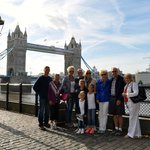 Outside Tower of London (Tower Bridge)