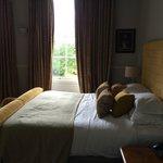 Beautiful room, tall ceilings, large sash windows