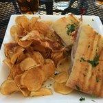 excellent Saltimbocca sandwich