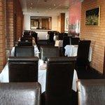 inside the main restaurant