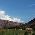 Incredible mountain views everywhere