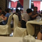 Look how busy! Over 150 tables filled up,Still people waiting