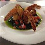 Shrimp En Salsa Verde