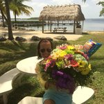 Thanks, Ted for the flowers and great vacation!
