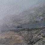 uno dei due ponti sospesi