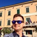 Alessandro Piacentini felice di essere arrivato all' Alberto Stella a Casciana Terme (Pisa)