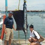 120 Pound Sailfish!