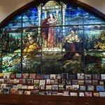 Peju gorgeous stained glass window