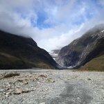 Frans Josef Glacier at the farthest
