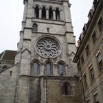 Outside the Cathedrale