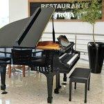 Piano no Restaurante