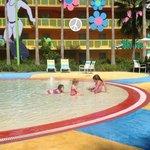 kiddie pool/splash pad