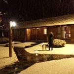 Nevasca a noite