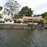House at one of the Islets of Granada Nicaragua