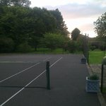 Lovely view from tennis court
