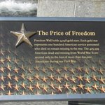Wall of Stars  Depict Thousands that Died